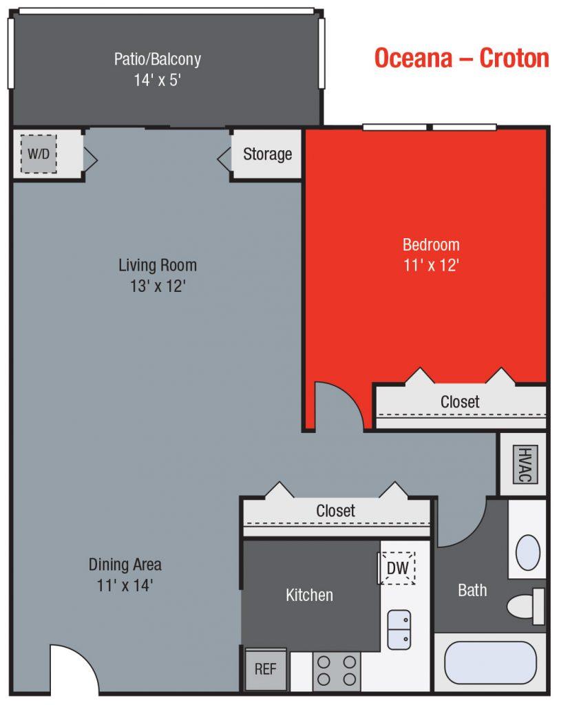 Apartments For Rent TGM Oceana - Croton